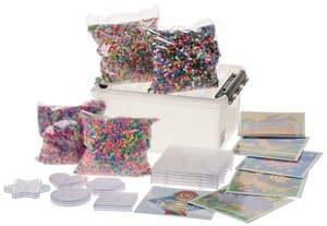 Starterset 'Bügelperlen' 40000 Perlen+Legeplatten
