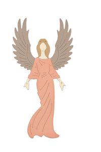 Sizzix Thinlits Die - Graceful Angel