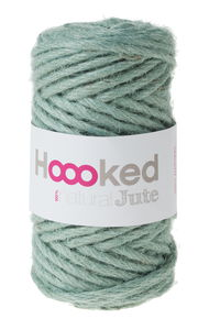 HOOOKED 100% natural jute (4 mm/45 m) mint