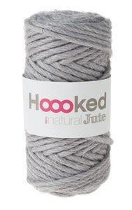 HOOOKED 100% natural jute (4 mm/45 m) grey