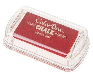 Stempelkissen Mini-Chalk, Lippenstift rot(46x25mm)