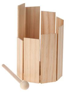 Houten bouwpakket - trommel
