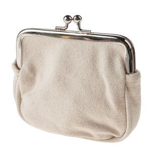 Beugel portemonnee met knipsluting