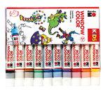 Marabu KIDS Window Color Set  (10 x 25 ml)