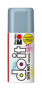 Marabu do it spray satin mat (150 ml) grijsblauw