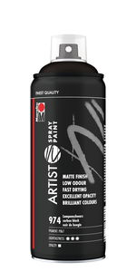 Marabu Artist verfspray (400 ml) carbon zwart