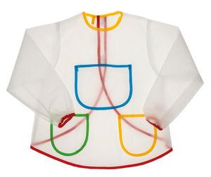 Malschürze für Kinder, transparent (3 - 6 Jahre)