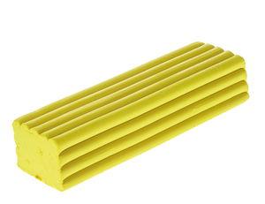 Becks Plastilin - boetseerklei, geel, 1000 g