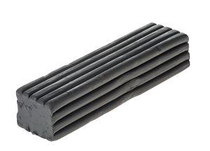 Becks Plastilin - boetseerklei, zwart, 1000 g