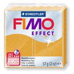 FIMO effect Modelliermasse, 57 g metallic gold