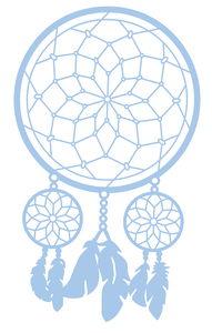 Schablone Mask Stencil Traumfänger (DIN A4)