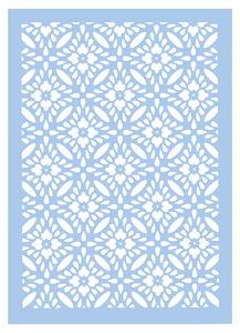 Sjabloon - Ornament, zelfklevend (A4)