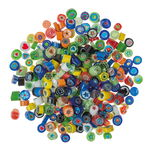 Mosaik-Millefiori, 100 g bunt-mix (7 - 8 mm)