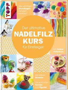 Duits boek: Der ultimative Nadelfilzkurs