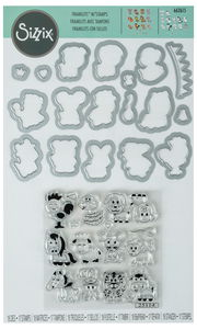 Sizzix® Framelits[TM] Die Set Zodiac Animals