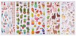 Sticker - glitter exotic, 130 diversi motivi