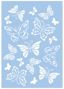 Schablone Schmetterlinge (DIN A4)