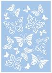 Sjabloon - Vlinders (A4)