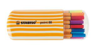 20 rotuladores puntafina Point 88® de STABILO®