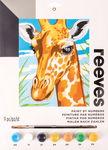 Peinture par numéros reeves, girafe