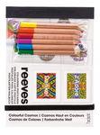 Postkarten Reeves, farbiger Kosmos + 6 Stifte