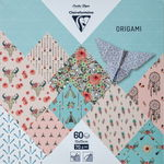 Origamipapier Clairefontaine - Boho Chic, 60 vel