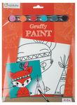 Schilderkarton Clairefontaine Graffy Paint - Vos