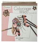 Clairefontaine kleurboek - Coloriage Wild, 28 vel
