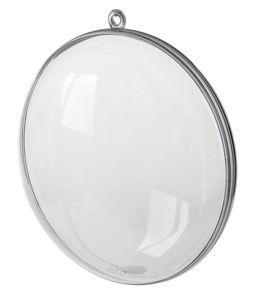 Kunststof - Medaillon (110 mm) glashelder