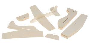 Avión de madera para montar, 12 piezas