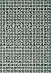 Papier Gluepatch, fleurs graphiques gris/noir