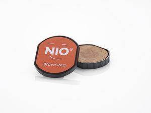 NIO stempelkussen (40 mm) brave red