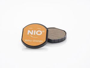 NIO stempelkussen (40 mm) shiny orange