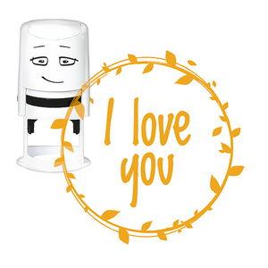 NIO stempelmotief - I Love you