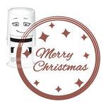 Motivo para estampar NIO® (40 mm) Merry Christmas
