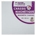 Canvasdoek magnetisch - vierkant (30 x 30 cm)