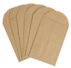 Umschläge, 6 Stück Kraftpapier  (19 x 12,5 cm)