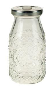 Glas mit Drehverschluss, Ethnomuster (200 ml)