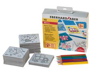 Eberhard Faber memory spel, 46-delig
