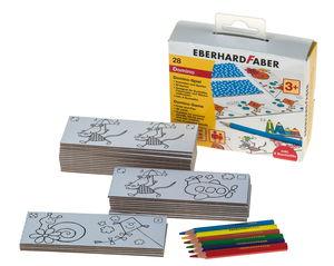 Eberhard Faber domino spel, 36-delig