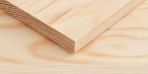 Grenen plankje 15 x 100 x 400 mm