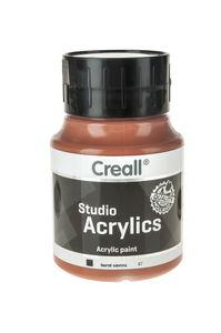 Creall Studio acrylverf (500 ml) sienna gebrand