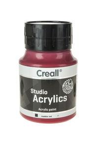 Creall Studio acrylverf (500 ml) bordeaux