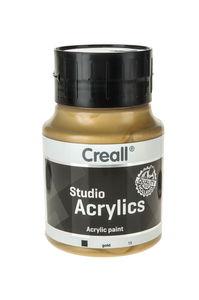 Creall Studio acrylverf (500 ml) goud