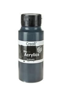 Creall Studio acrylverf (1000 ml) zwart