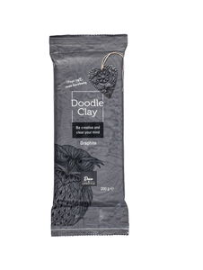 Doodle Clay Modellliermasse, 200 g graphite