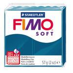 Fimo soft boetseerklei (57 g) calypso blauw