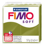 FIMO soft Modelliermasse, 57 g grüne Olive
