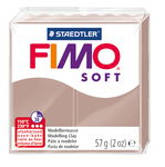 FIMO soft Modelliermasse, 57 g taupe