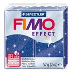 FIMO effect Modelliermasse, 57 g Glitter-blau